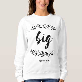 Alpha Phi | Big Wreath Sweatshirt