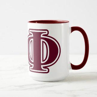 Alpha Phi Bordeaux Letters Mug
