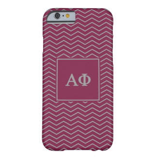 Alpha Phi | Chevron Pattern Barely There iPhone 6 Case