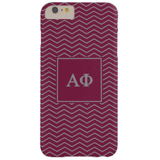 Alpha Phi | Chevron Pattern Barely There iPhone 6 Plus Case
