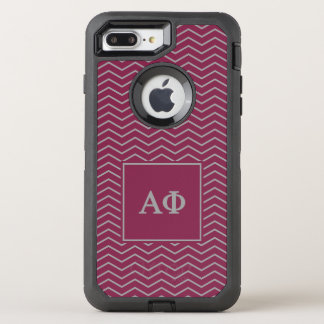 Alpha Phi | Chevron Pattern OtterBox Defender iPhone 7 Plus Case