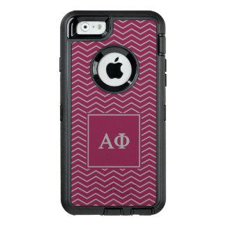 Alpha Phi | Chevron Pattern OtterBox Defender iPhone Case