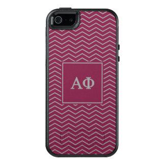 Alpha Phi | Chevron Pattern OtterBox iPhone 5/5s/SE Case