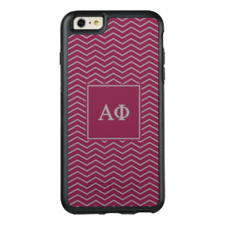 Alpha Phi | Chevron Pattern OtterBox iPhone 6/6s Plus Case