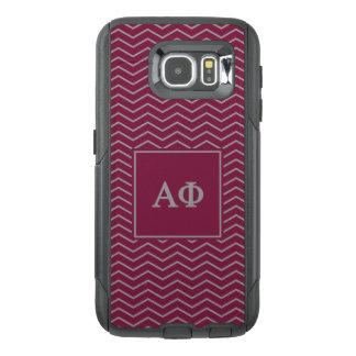 Alpha Phi | Chevron Pattern OtterBox Samsung Galaxy S6 Case