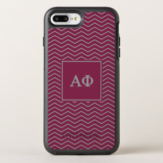 Alpha Phi | Chevron Pattern OtterBox Symmetry iPhone 7 Plus Case