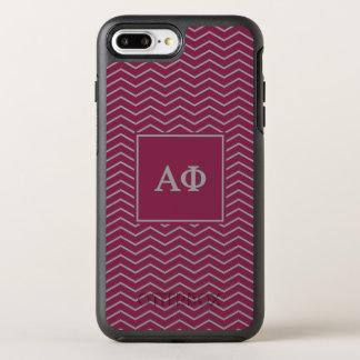 Alpha Phi | Chevron Pattern OtterBox Symmetry iPhone 8 Plus/7 Plus Case