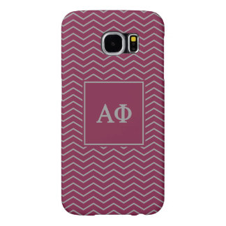 Alpha Phi | Chevron Pattern Samsung Galaxy S6 Cases