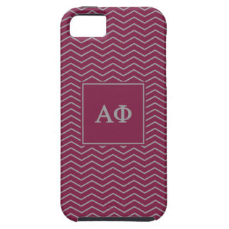 Alpha Phi | Chevron Pattern Tough iPhone 5 Case