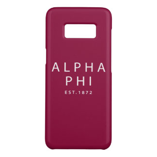 Alpha Phi | Est. 1872 Case-Mate Samsung Galaxy S8 Case
