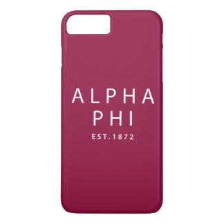 Alpha Phi | Est. 1872 iPhone 8 Plus/7 Plus Case