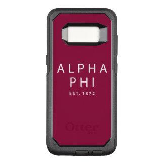 Alpha Phi | Est. 1872 OtterBox Commuter Samsung Galaxy S8 Case