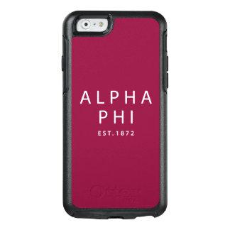 Alpha Phi | Est. 1872 OtterBox iPhone 6/6s Case