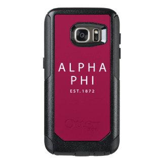 Alpha Phi | Est. 1872 OtterBox Samsung Galaxy S7 Case