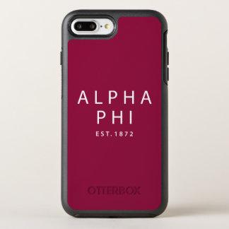 Alpha Phi | Est. 1872 OtterBox Symmetry iPhone 8 Plus/7 Plus Case