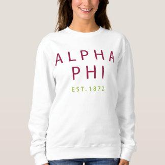 Alpha Phi | Est. 1872 Sweatshirt