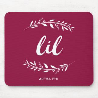 Alpha Phi   Lil Wreath Mouse Mat