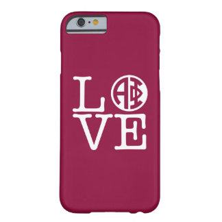 Alpha Phi | Love Barely There iPhone 6 Case