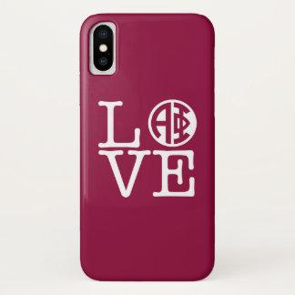 Alpha Phi | Love iPhone X Case