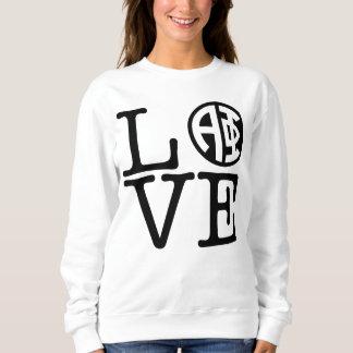 Alpha Phi | Love Sweatshirt