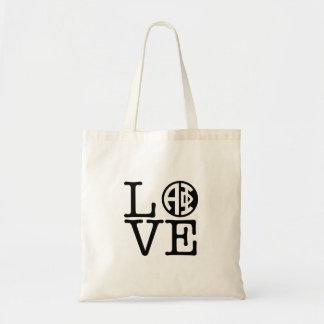 Alpha Phi   Love Tote Bag