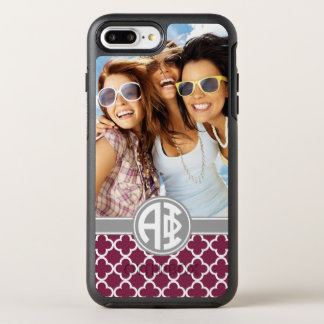 Alpha Phi | Monogram and Photo OtterBox Symmetry iPhone 8 Plus/7 Plus Case