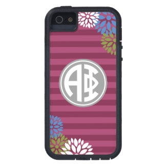 Alpha Phi | Monogram Stripe Pattern iPhone 5 Cases