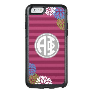 Alpha Phi | Monogram Stripe Pattern OtterBox iPhone 6/6s Case