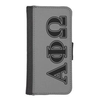 Alpha Phi Omega Black Letters