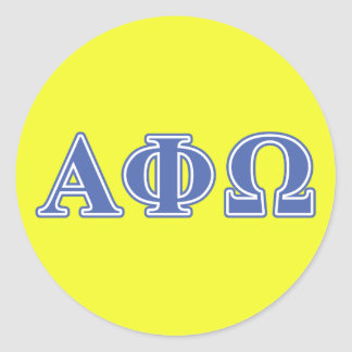 Alpha Omega Stickers