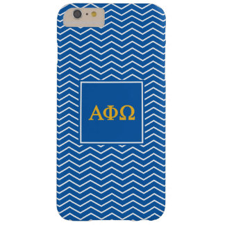 Alpha Phi Omega | Chevron Pattern Barely There iPhone 6 Plus Case