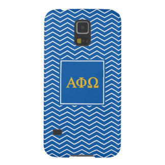 Alpha Phi Omega | Chevron Pattern Galaxy S5 Cover