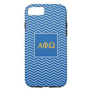 Alpha Phi Omega | Chevron Pattern iPhone 8/7 Case