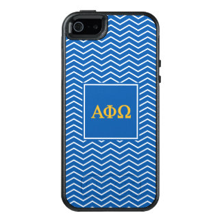 Alpha Phi Omega | Chevron Pattern OtterBox iPhone 5/5s/SE Case