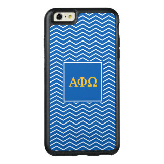 Alpha Phi Omega | Chevron Pattern OtterBox iPhone 6/6s Plus Case