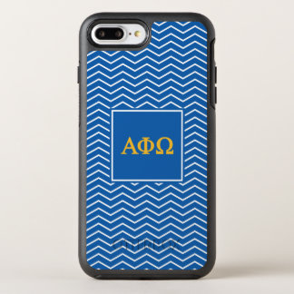Alpha Phi Omega | Chevron Pattern OtterBox Symmetry iPhone 7 Plus Case