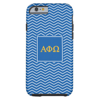 Alpha Phi Omega | Chevron Pattern Tough iPhone 6 Case
