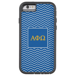Alpha Phi Omega | Chevron Pattern Tough Xtreme iPhone 6 Case