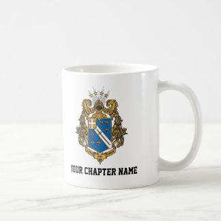 Alpha Phi Omega Color - Crest Coffee Mug