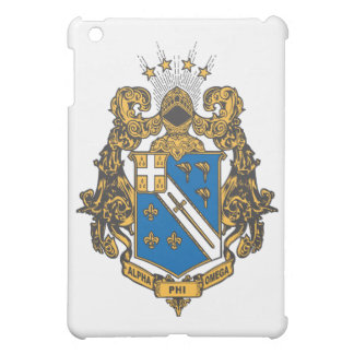 Alpha Phi Omega Color - Crest Cover For The iPad Mini