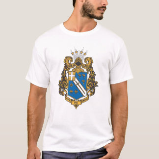 Alpha Phi Omega Color - Crest T-Shirt