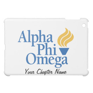 Alpha Phi Omega Color - Torch Case For The iPad Mini