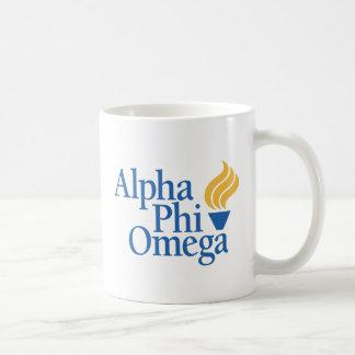 Alpha Phi Omega Color - Torch Coffee Mug