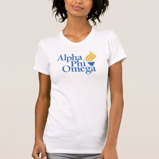 Alpha Phi Omega Color - Torch T-Shirt