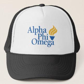 Alpha Phi Omega Color - Torch Trucker Hat