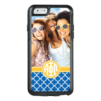 Alpha Phi Omega | Custom Monogram Pattern OtterBox iPhone 6/6s Case