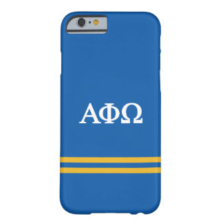 Alpha Phi Omega | Sport Stripe Barely There iPhone 6 Case