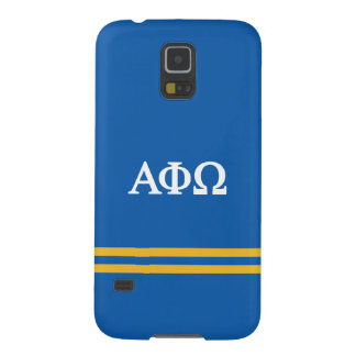 Alpha Phi Omega | Sport Stripe Case For Galaxy S5