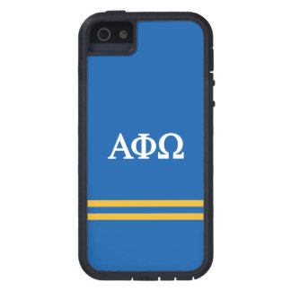 Alpha Phi Omega | Sport Stripe Case For The iPhone 5