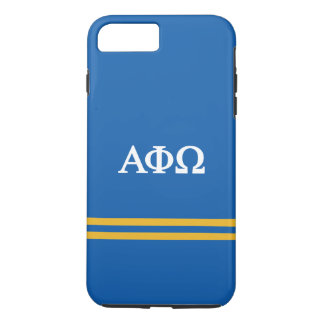 Alpha Phi Omega | Sport Stripe iPhone 8 Plus/7 Plus Case